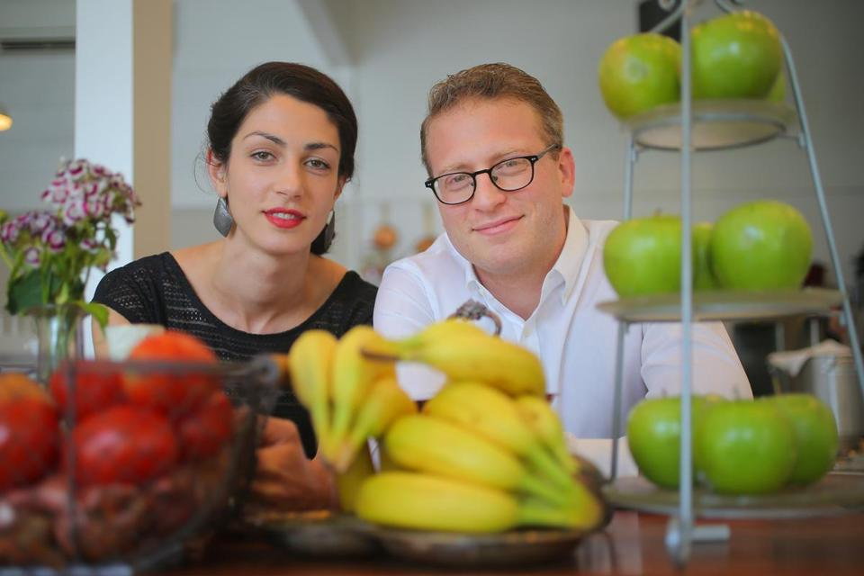 Katrina Jazayeri and Joshua Lewin own Juliet, a restaurant in Somerville's Union Square.